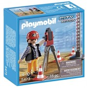 PLAYMOBIL Surveyor Playset