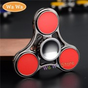 4 Colors Tri-Spinner Fidget Toy Metal EDC Hand Spinner For Autism and ADHD Anxiety Stress Relief Focus Toys Kids Gift