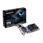 Gigabyte Nvidia Geforce 210 1GB DDR3 Graphics Cards ( GV-N210D3-1GI ) / PCI-E 2.0/ 1024MB / DDR3 / 64 Bit / Dual -Link DVI-I/D-Sub/HDMI