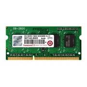 Transcend JetRAM Memoria 2 GB DDR3 SO-DIMM 204-pin, Nero