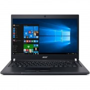 Laptop Acer TravelMate P648-M-578H 14 inch Full HD Intel Core i5-6200U 8GB DDR4 1TB HDD 128GB SSD 4G Windows 10 Pro Black