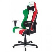 Scaun gaming rotativ DX-Racer green/white/red
