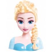 Cabeça da boneca Elsa para pentear - Frozen Tamanho único