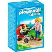 PLAYMOBIL® 5573 City Life - Zwillingskinderwagen