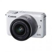 Canon EOS M10 + ob. 15-45 IS STM biały Dostawa GRATIS!