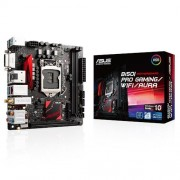 Asus B150I Pro Scheda Madre da Gaming, Nero/Rosso
