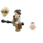 LEGO Star Wars Force Awakens - Rey and BB-8 Minifigure