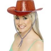 Palarie Cowboy Party rosie