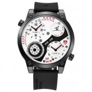 Sportief Analoog Heren Horloge met Siliconen Bandje