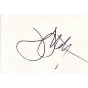 John Lithgow Autographed Index Card