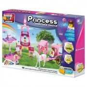 Fairytale Castle-Horse and Carrriage-Princess Summer House-3 Princesses horse Stable-226 pieces