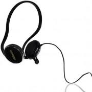 Casti 4World 09957, Stereo cu microfon, 2.2m (Negre)