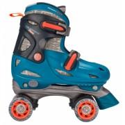 Blauwe verstelbare skates voor kinderen maat 34-37