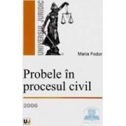 Probele in procesul civil 2006 - Maria Fodor