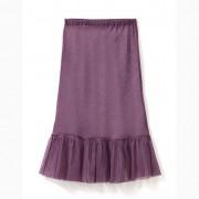 Tulen korte rok, violet 40