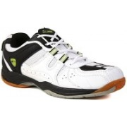 Proase Badminton Shoes(White, Black)
