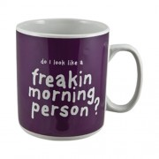 """Giant Mug - Do I Look Like a Freakin Morning Person? (900ml)"""