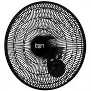 Ventilador Oscilante Parede Biv 60Cm Pp Preto 138,7W Teto PRETO