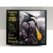 Fantasy Glow 500 Piece Dragon Valley puzzle (GLOWS AT NIGHT)