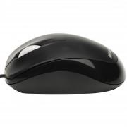 Mouse Microsoft Compact Optical cu fir, negru