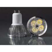 GU10-4Power-220VWW 4W Meleg fehér LED izzó