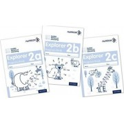 Numicon: Number, Pattern and Calculating 2 Explorer Progress Books ABC (Mixed pack): 2 by Ruth Atkinson