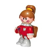 Tolo 89983 Figurine - School Girl