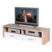 Table Tv Absoluto Télévision Armoire Basse Meuble Support Télé Sonoma Chêne