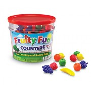 Learning Resources Fruity Fun Counters (Set of 108)
