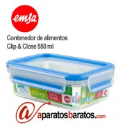 Emsa contenedor de alimentos clip & close 550 ml 508538