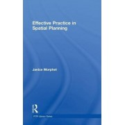 Effective Practice in Spatial Planning by Janice Morphet