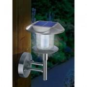 Napelemes, falra szerelhető/leszúrható LED-es kertilámpa (571564)