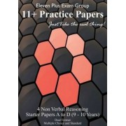 Non-verbal Eleven Plus Starter Papers: (NVR A - NVR D) by Eleven Plus Exam Group