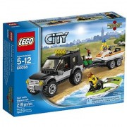LEGO City Great Vehicles 60058 SUV with Watercraft