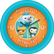 JOY - Reloj analógico de pared - Oktonauten
