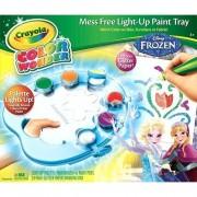 Crayola Disney Frozen Color Wonder Frozen Mess Free Light-Up Paint Tray