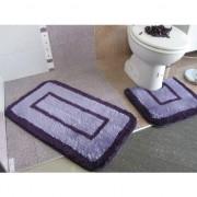 Set prostirki za kupatilo M-01 Primo lila