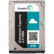 Seagate Enterprise Capacity 2.5 HDD SATA 6Gb/s 512E 2TB Hard Drive With SED