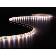 KIT RUBAN À LED FLEXIBLE AVEC CONTRÔLEUR ET ALIMENTATION - BLANC CHAUD & BLANC NEUTRE - 300 LED - 5 m - 12 VCC