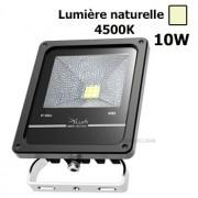 Projecteur Led 10 W 4500K IP65 Noir