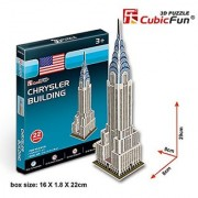 CubicFun 3D Puzzle S-Series Chrysler Building - New York