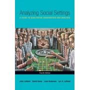 Analyzing Social Settings by John Lofland