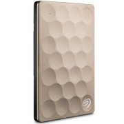 Seagate Backup Plus Ultra Slim Portable Drive 2TB Gold USB 3.0