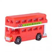 Nanoblock Nbh-113 - London Bus - 300 Pièces