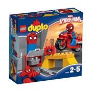 LEGO - El taller de la moto Araña de Spider-Man, multicolor (10607)