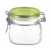 Bormioli Rocco Fido Trans csatos befőttes üveg 0,5 literes zöld - 119067