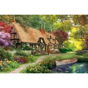 White Mountain Puzzles Cozy Cottage - 300 Piece Jigsaw Puzzle by White Mountain Puzzles (English Manual)