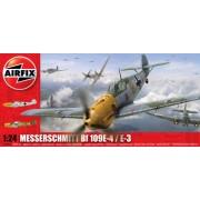 Airfix A12002A - Modellino aereo Messerschmitt Bf 109 E, scala 1:24