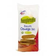 Biscuiti Buongiornobio Oswego (produs vegan) 250g