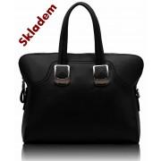 Kabelka LS00177 - Black Fashion Tote